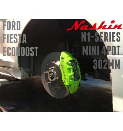 NASHIN (FRONT) : N1-SERIES MINI 4pot 302MM BRAKE KIT