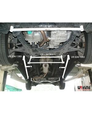 HONDA STREAM RS-Z 2007 FRONT LOWER BAR / FRONT MEMBER BRACE 4 POINTS