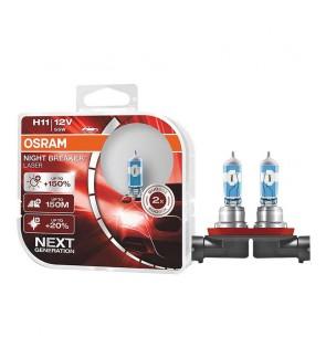 Osram H11 Night Breaker Laser Bulb +150% Brightness