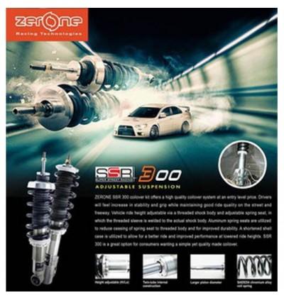 ZerOne SSR300 Coilover Kit - Proton Saga BLM FLX / Persona VVT / Iriz / Savvy