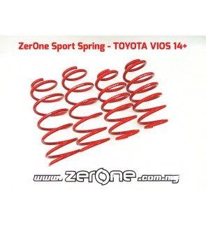 ZERONE TYPE S SPORT SPRING TOYOTA VIOS NCP150 13+