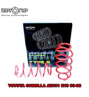 ZERONE TYPE S SPORT SPRING TOYOTA COROLLA AE101 E10 93-98