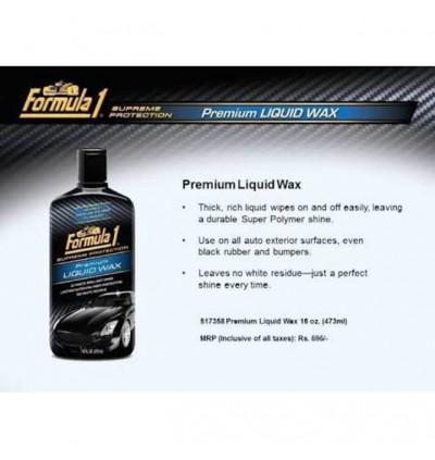 Formula 1 Premium Liquid Wax (16oz)