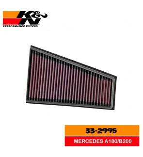 K&N Air Filter 33-2995 Mercedes A180/B200/GLA/Q30