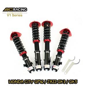 BC RACING V1 SERIES ADJUSTABLE SUSPENSION HONDA CITY GM6 / JAZZ GK3 / GK5