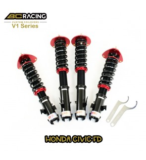 BC RACING V1 SERIES ADJUSTABLE SUSPENSION HONDA CIVIC FD