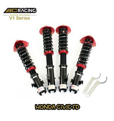 BC Racing V1 Series Adjustable Suspension - Honda Civic FD