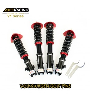 BC RACING V1 SERIES ADJUSTABLE SUSPENSION VOLKSWAGEN GOLF MK5