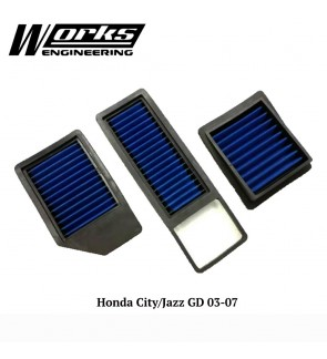 Works Engineering Drop in Air Filter - Honda City / Jazz GD 03-07