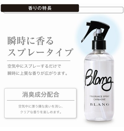 Carmate Blang L802 340g Strong Fragrance Spray Type-Aberfitch
