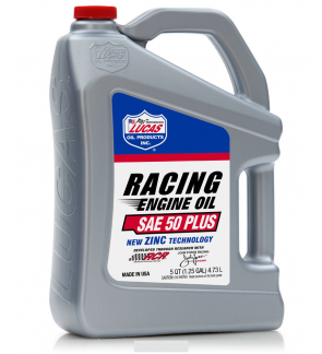 Lucas SAE 50 Plus Racing Oil (5Qt / 4.73L)