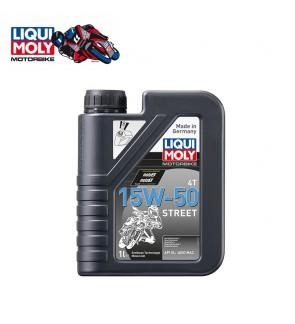 LIQUI MOLY MOTORBIKE 4T 15W-50 STREET-1L
