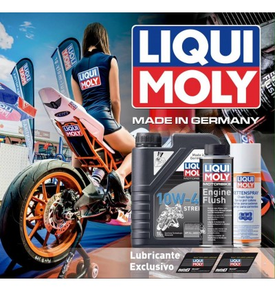 LIQUI MOLY MOTORBIKE 4T SYNTH 10W-60 STREET RACE-1L
