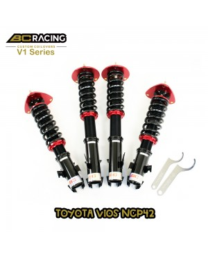 BC RACING V1 SERIES ADJUSTABLE SUSPENSION TOYOTA VIOS NCP42