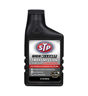 STP® HIGH MILEAGE TRANSMISSION STOP SLIP + LEAK REPAIR