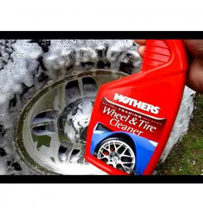 Mothers Foaming Wheel & Tire Cleaner (24oz)