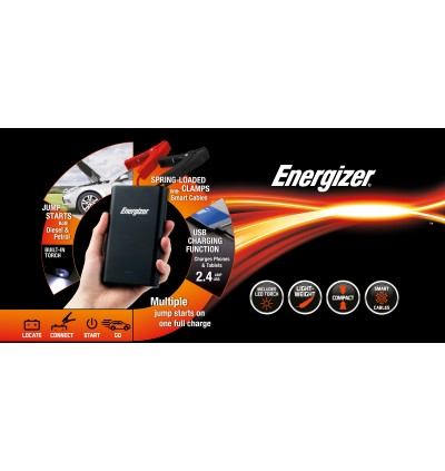 ENERGIZER POWER BANK JUMP STARTER-ENX12K
