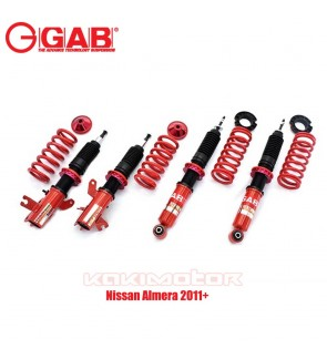 GAB HE SERIES COILOVER KIT - NISSAN ALMERA