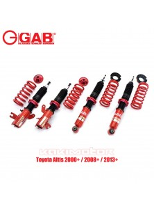 GAB HE-Toyota Altis 2000+ / 2008+ / 2013+ Hi Lo Bodyshift Adjustable Suspension