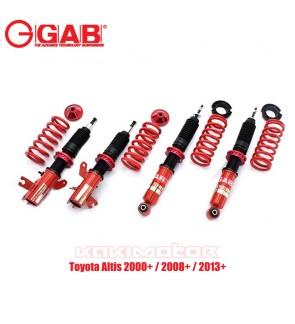 GAB HE-Toyota Altis 2000+ / 2008+ / 2013+ Hi Lo Bodyshift Adjustable Suspension