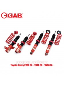Toyota Camry XV30 02+/XV40 06+/XV50 12+ - GAB HE Series Adjustable Suspension