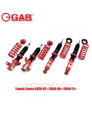 Toyota Camry XV30 02+/XV40 06+/XV50 12+ - GAB HE Series Adjustable Suspension