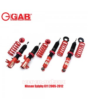 Nissan Sylphy G11 2005-2012 - GAB HE Hi Lo Bodyshift Adjustable Suspension