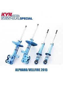 ALPHARD/VELLFIRE 2015 KYB NEW SR HIGH PERFORMANCE SHOCK ABSORBER