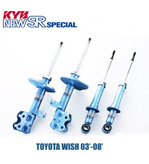 TOYOTA WISH 03-08 KYB NEW SR HIGH PERFORMANCE SHOCK ABSORBER
