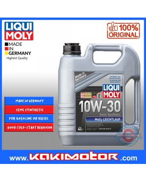 Liqui Moly Mos2 10W30 (4L) + Works Engine Oil Filter