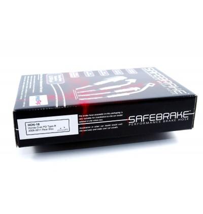 Safebrake Brake Hose Kit - Honda Civic FD2 Type R