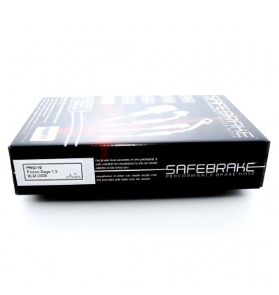 Safebrake Brake Hose Kit - Proton Saga BLM 1.3 1.6