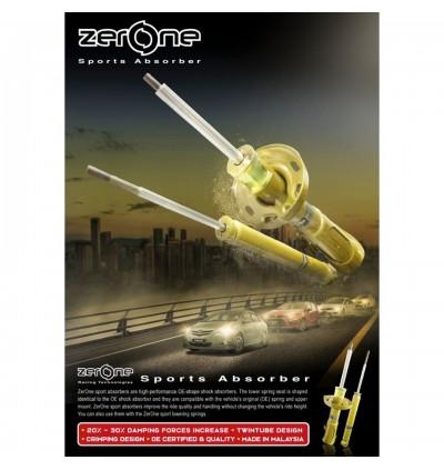 ZERONE SPORT SHOCK ABSORBERS FOR PERODUA (4PCS)