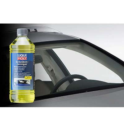 LIQUI MOLY Remove Oil/Silicon And Insect Soiling Windshield Cleaner (1L)