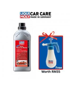 LIQUI MOLY Super Concentrated Auto Wash & Wax Shampoo (1L/30ml:10L)