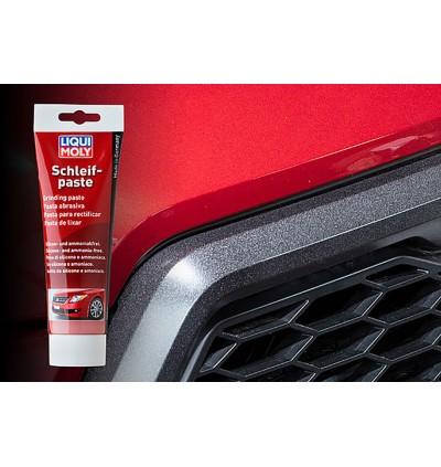 LIQUI MOLY Remove Dull Paint Layer Grinding And Polishing Paste Pre-Wax (300g)