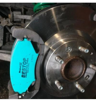 PMU Bestop Front Brake Pad F128 - Toyota Celica ZZT231