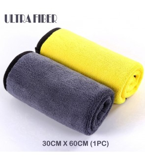 NANO THICK DOUBLE LAYER ULTRA FIBER MICROFIBER CLOTH-FOR CAR/HOME/LIVING