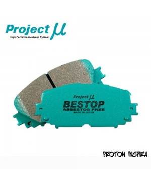PMU Bestop Front Brake Pad F514 - Proton Inspira / Mitsubishi Lancer GT