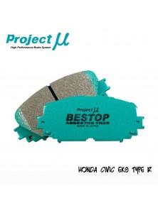 PMU Bestop Front Brake Pad F333 - Honda Civic EK9 / Integra DC2 Type R