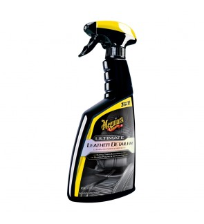 Meguiars Ultimate Leather Detailer - Leather Cleaner, Leather Conditioner & UV Protection - G201316, 16 oz