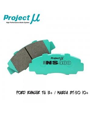 PMU NS400 Front Brake Pad PMA8488 - Ford Ranger T6 12+ / Mazda BT-50 10+