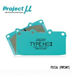 PMU HC+ Front Brake Pad F506 - Mitsubishi Evo 5-10 CP9A CT9A CZ4A / Subaru Impreza Ver. 7-10 (Brembo Caliper)