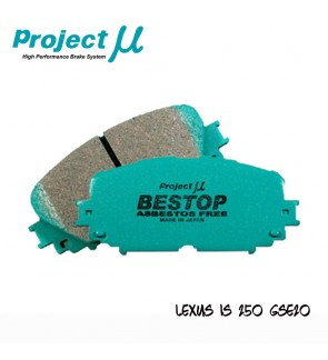 PMU Bestop Front Brake Pad F109 - Lexus IS250 GSE20