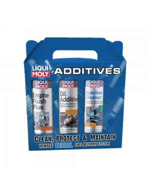 Liqui Moly 3-in-1-Engine Flush/Injection Cleaner/Oil Additive