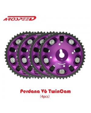 Proton Perdana V6 Twin Cam 4pcs-Arospeed Cam Pulley(Purple)