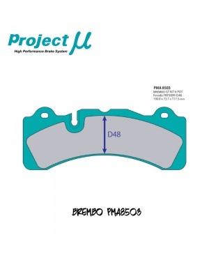 PMU NS400 Brake Pad PMA8503 for Brembo GT Kit 6-Pot (D48)