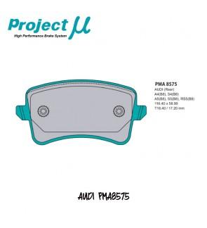 PMU NS400 Rear Brake Pad PMA8575G - Audi A4 S4 (B8) / A5 S5 (8TA) / Q5 (8RB)