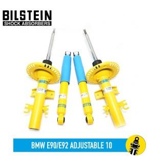 BILSTEIN BMW E90/E92 ADJUSTABLE 10 B6/B8 SHOCKS ABSORBER