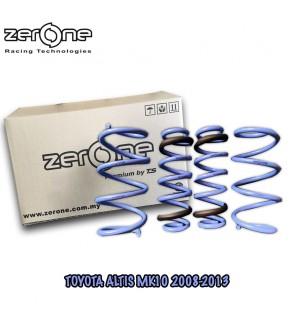 TOYOTA ALTIS MK10 08-13 ZERONE PREMIUM BY TS SPORTS SPRING